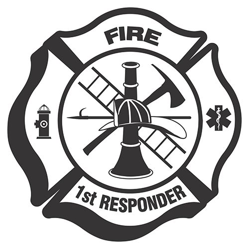 Fire Department Maltese Cross Coloring Page 32