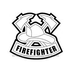 Fire Department Maltese Cross Coloring Page 33
