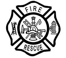 Fire Department Maltese Cross Coloring Page 39