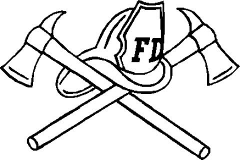 Fire Department Maltese Cross Coloring Page 48