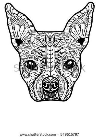 French Bulldog Coloring Pages 25