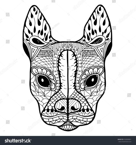 French Bulldog Coloring Pages 26