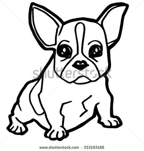 French Bulldog Coloring Pages 28