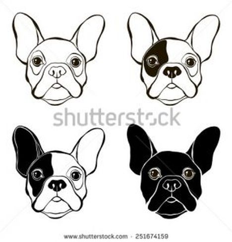 French Bulldog Coloring Pages 8