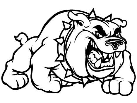 Georgia English Bulldog Coloring Pages 10