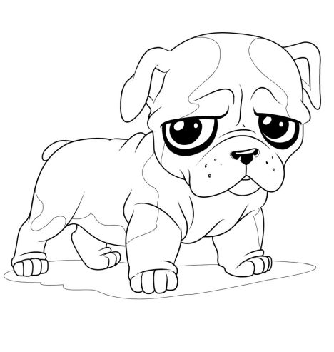 Georgia English Bulldog Coloring Pages - Part 2