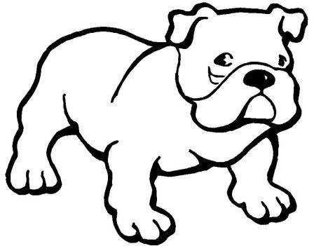 Georgia English Bulldog Coloring Pages 13
