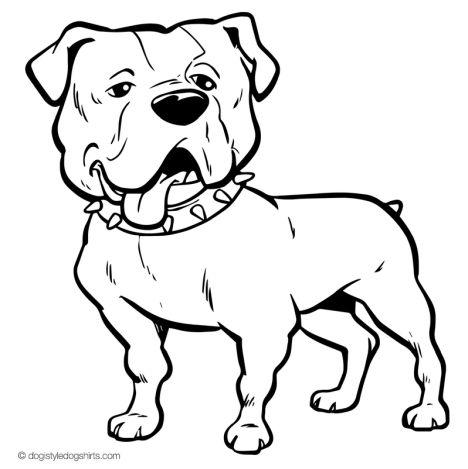 Georgia English Bulldog Coloring Pages 15