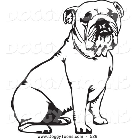 Georgia English Bulldog Coloring Pages 21
