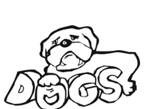 Georgia English Bulldog Coloring Pages 23