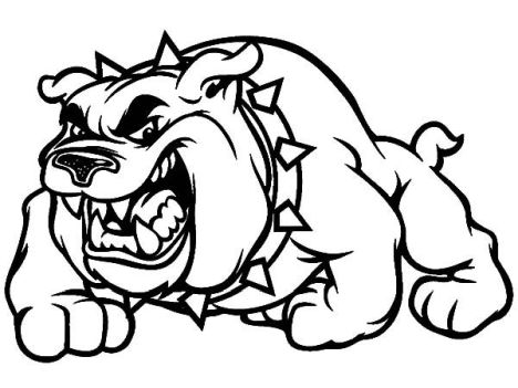 Georgia English Bulldog Coloring Pages 24