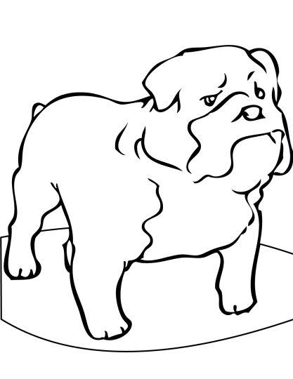 Georgia English Bulldog Coloring Pages 27