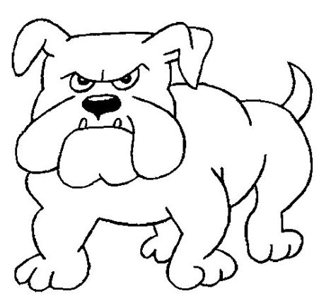 Georgia English Bulldog Coloring Pages 28