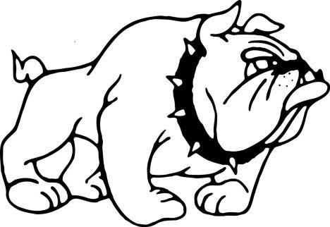 Georgia English Bulldog Coloring Pages 3