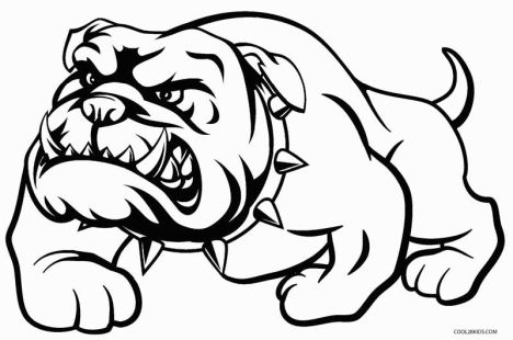 Georgia English Bulldog Coloring Pages 30