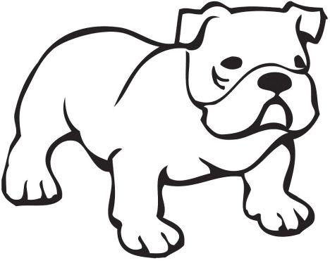 Georgia English Bulldog Coloring Pages 33