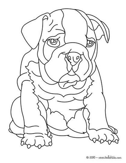 Georgia English Bulldog Coloring Pages 38