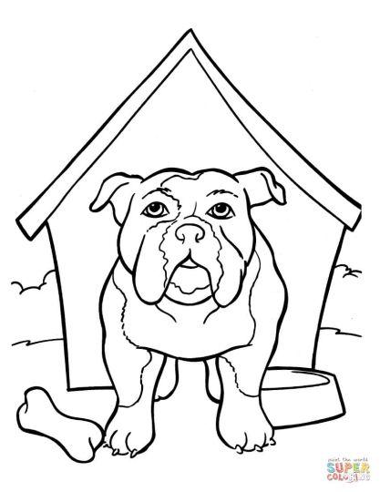 Georgia English Bulldog Coloring Pages 39