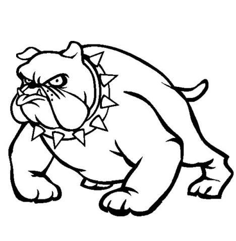 Georgia English Bulldog Coloring Pages 47