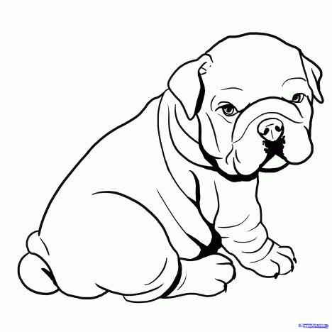 Georgia English Bulldog Coloring Pages 6