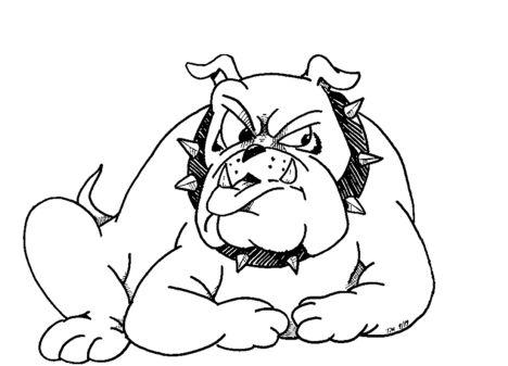 Georgia English Bulldog Coloring Pages 8