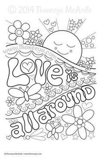 I Love You To The Moon And Back Coloring Pages 13