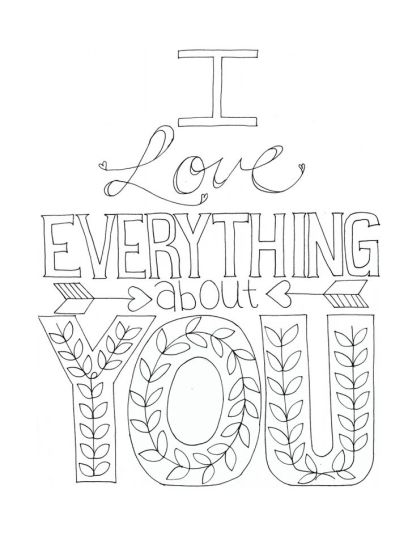 I Love You To The Moon And Back Coloring Pages 21