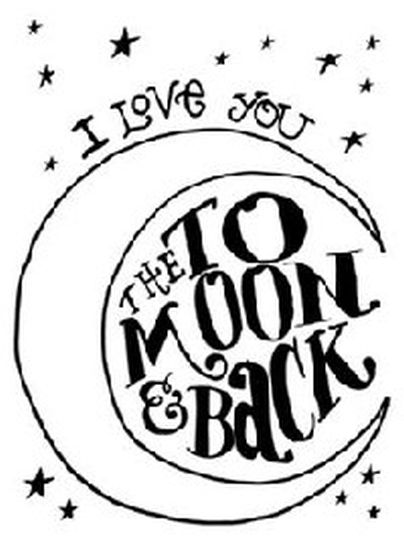 I Love You To The Moon And Back Coloring Pages 3