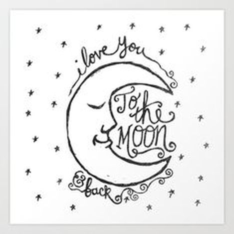 I Love You To The Moon And Back Coloring Pages 8
