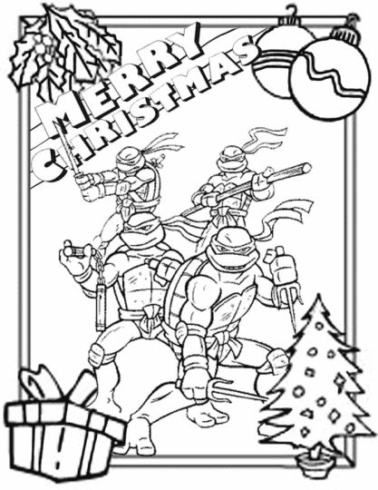 Minions Christmas Coloring Pages 13