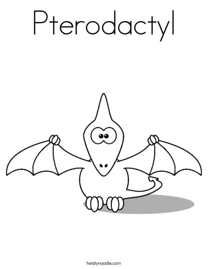 Pterodactyl Colouring Pages 25