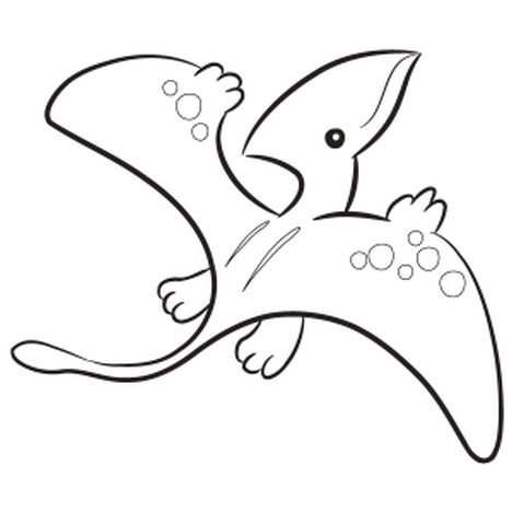 Pterodactyl Colouring Pages 26