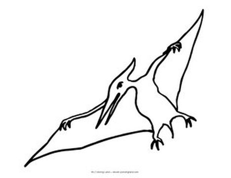 Pterodactyl Colouring Pages 27