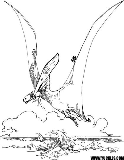 Pterodactyl Colouring Pages 33