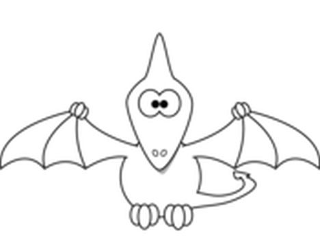 Pterodactyl Colouring Pages 5