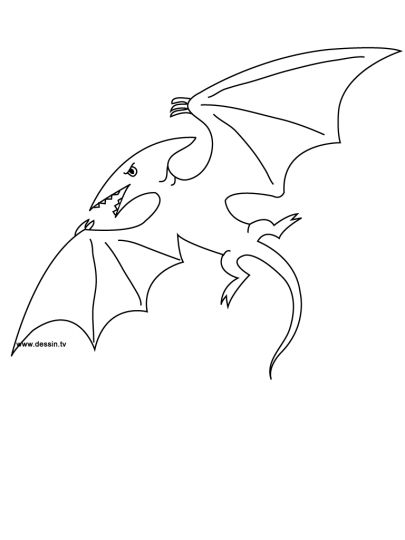 Pterodactyl Colouring Pages 6
